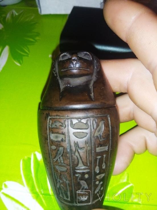 Статуэтка, Канопа Египетского жреца, фото №8