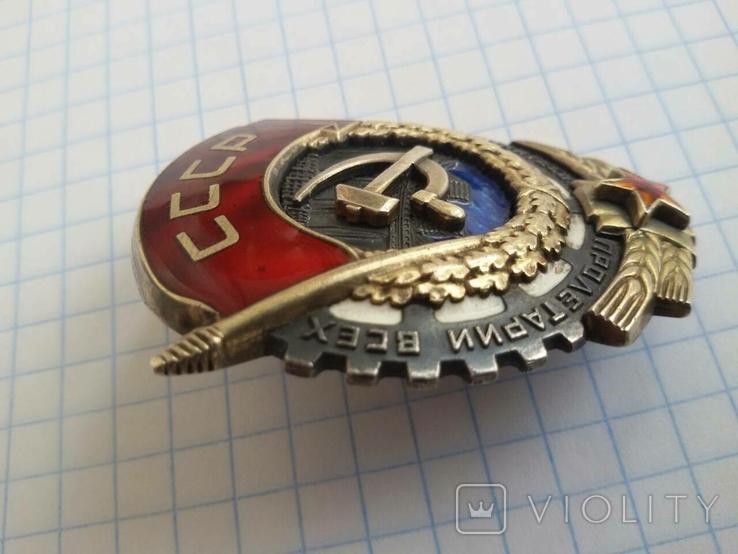 Орден Трудового красного знамени копия, фото №7
