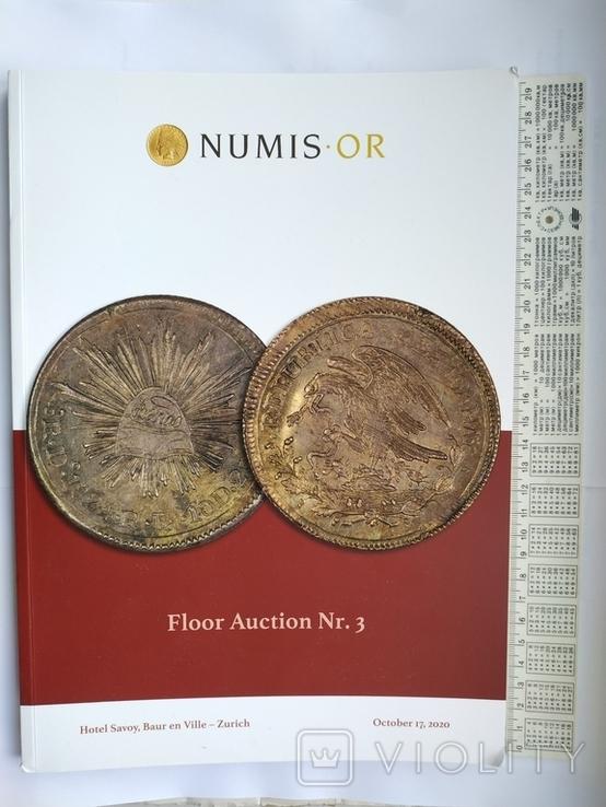 Аукционный каталог  Numis 3 17 октября 2020 г. Цюрих Швейцария, фото №2