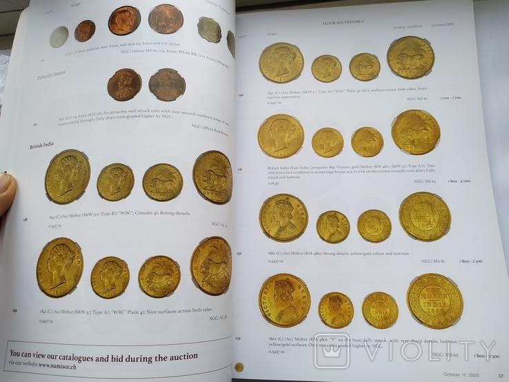 Аукционный каталог  Numis 3 17 октября 2020 г. Цюрих Швейцария, фото №4
