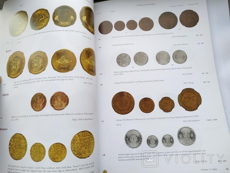 Аукционный каталог  Numis 3 17 октября 2020 г. Цюрих Швейцария, фото №5