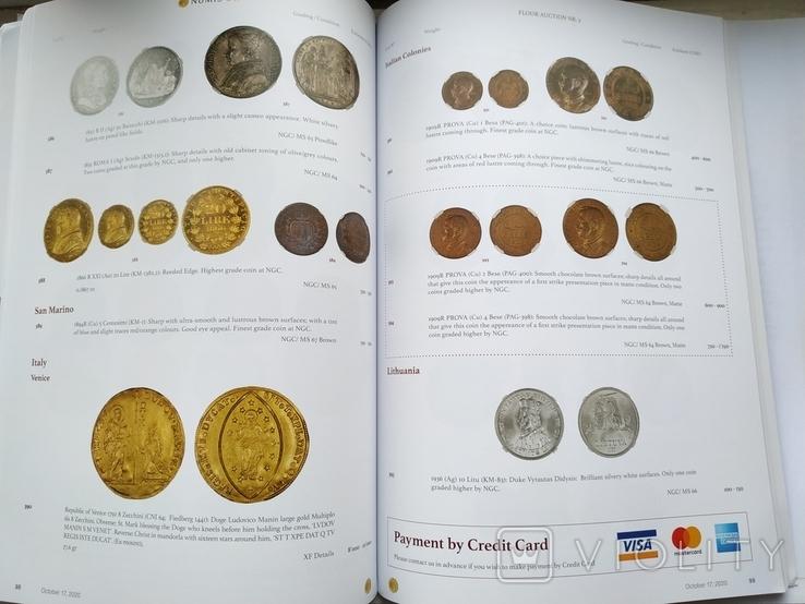 Аукционный каталог  Numis 3 17 октября 2020 г. Цюрих Швейцария, фото №8