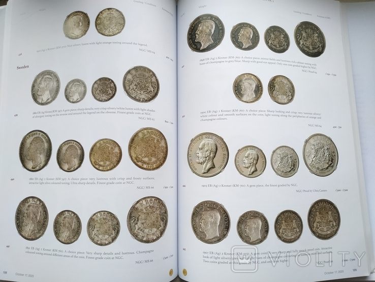 Аукционный каталог  Numis 3 17 октября 2020 г. Цюрих Швейцария, фото №9