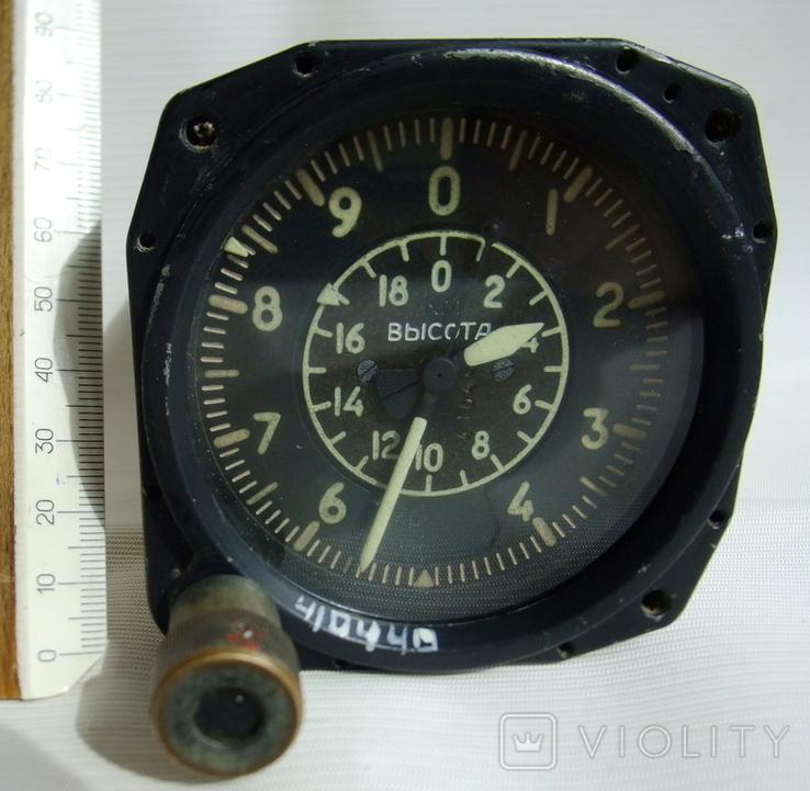 Высотомер ВД-20 прибор авиационный., фото №10