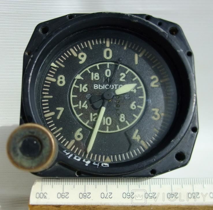 Высотомер ВД-20 прибор авиационный., фото №11