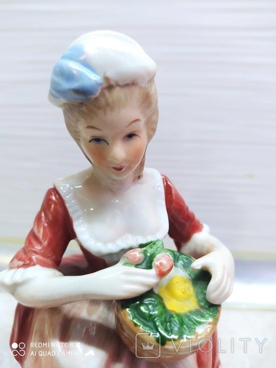 Статуэтка Дама с розами, фото №7