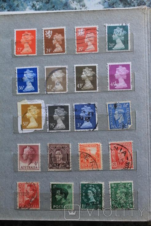 Марки США, Канада, Европа 350 шт, фото №9