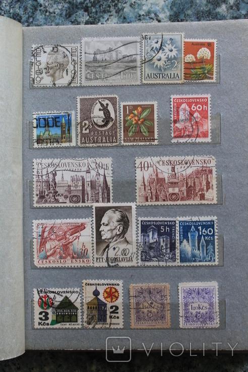 Марки США, Канада, Европа 350 шт, фото №10
