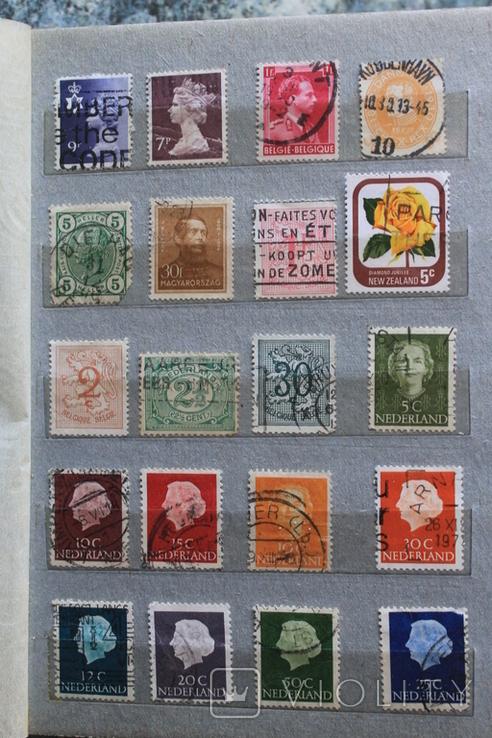 Марки США, Канада, Европа 350 шт, фото №11