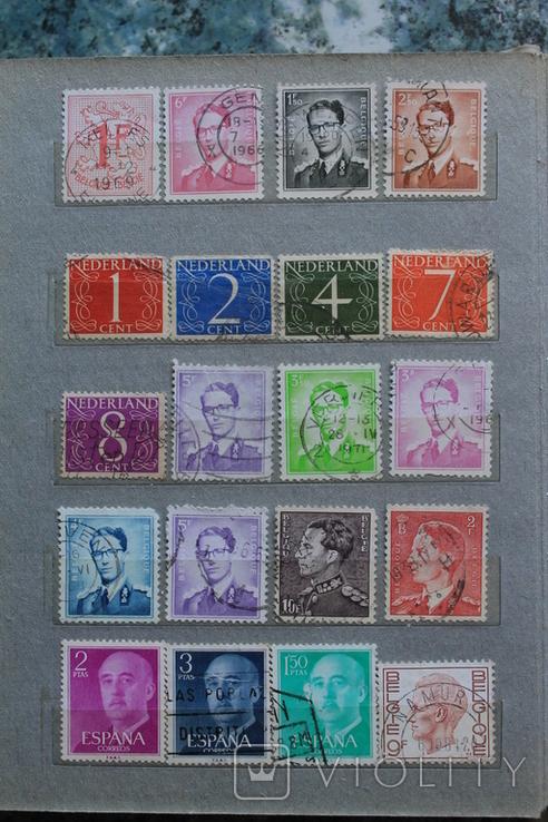 Марки США, Канада, Европа 350 шт, фото №12