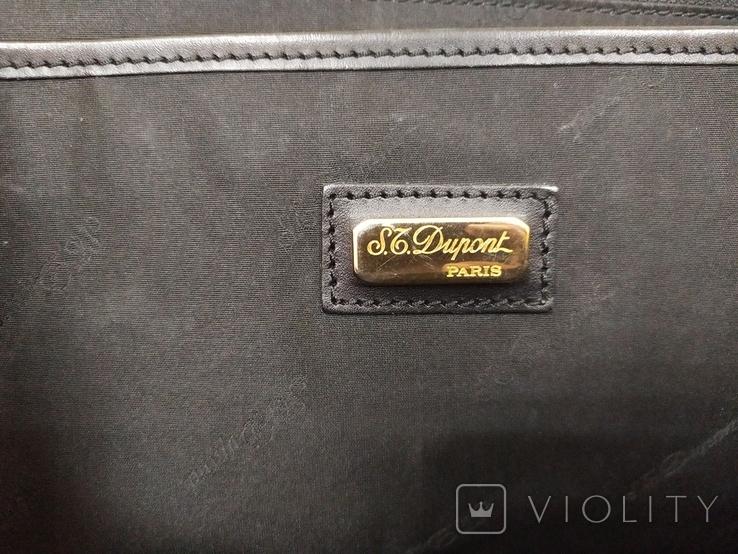 Фирменный портфель Dupont. Кожа, фото №13
