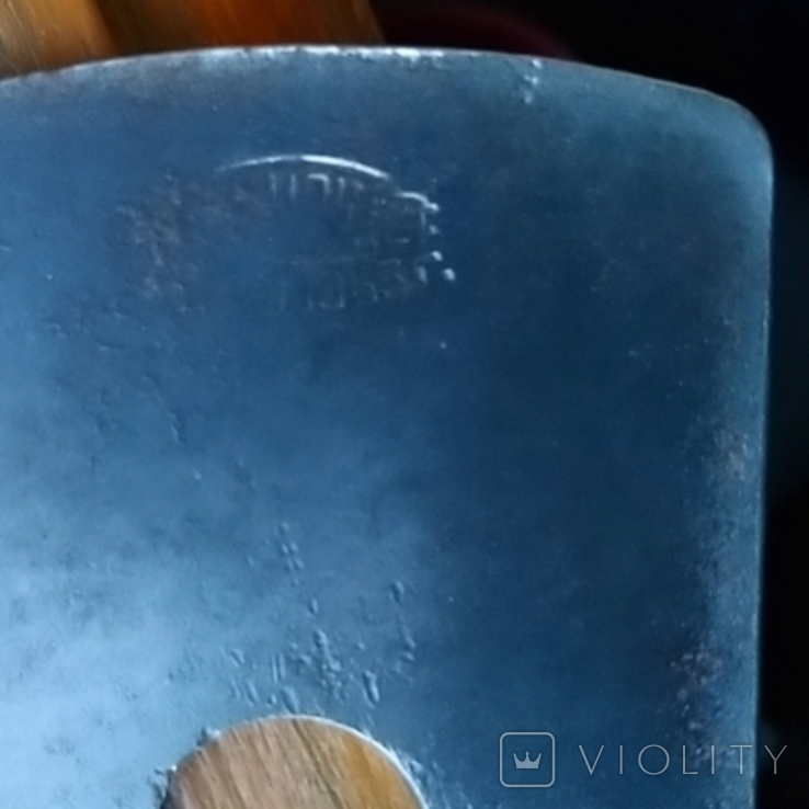 Железко Нож Лезвие рубанка 1963 год Интересное клеймо, фото №3