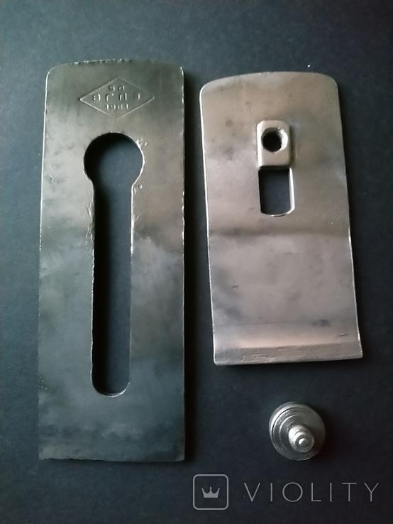 Железко Нож Лезвие для рубанка 50 мм 1961 год, фото №2