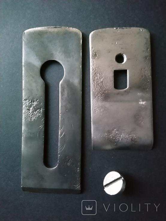 Железко Нож Лезвие для рубанка 50 мм 1961 год, фото №3