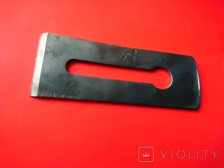 Железко Нож Лезвие для рубанка 50 мм 1961 год, фото №4