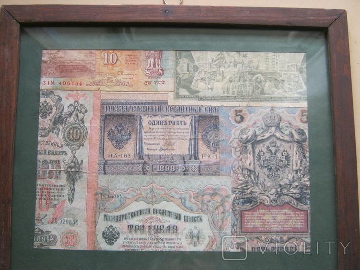 Панно Старинные деньги, фото №5