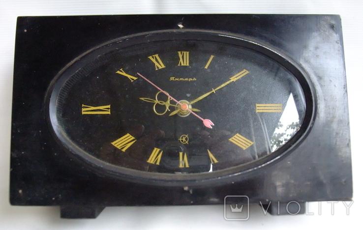Часы Янтарь электронно-механические II клас точности ОЧЗ., фото №2