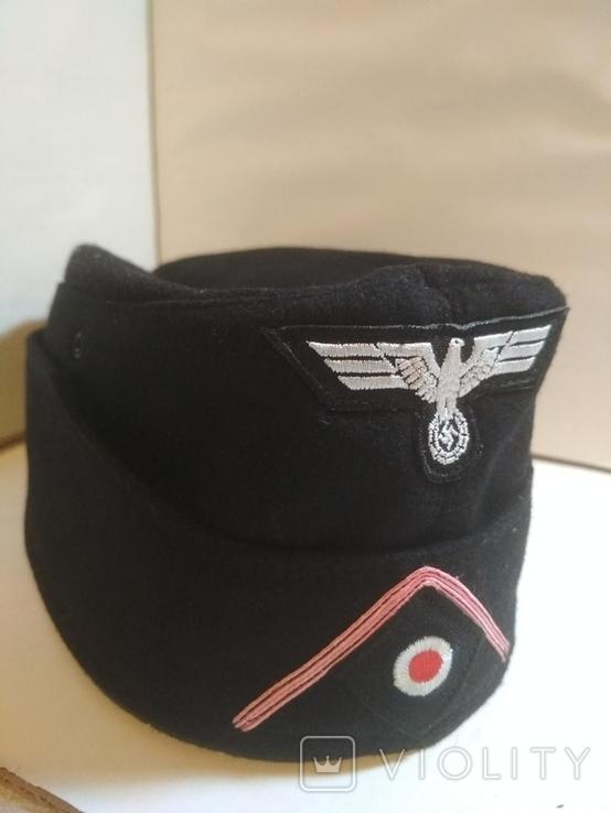 Копия.Пилотка вермахт (танкист), фото №3
