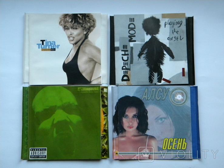 Вкладыши от CD с музыкалки, 17 шт. + 5 дисков с играми., фото №2