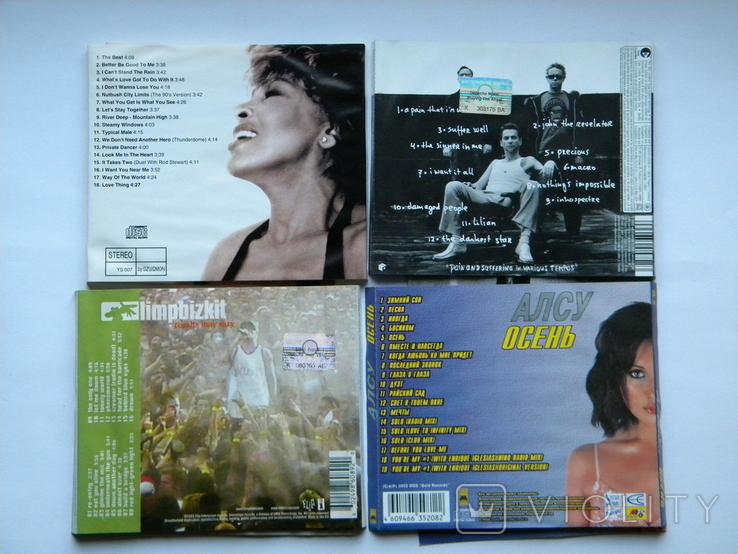 Вкладыши от CD с музыкалки, 17 шт. + 5 дисков с играми., фото №3