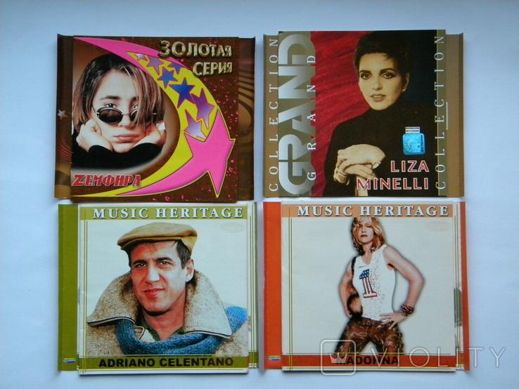 Вкладыши от CD с музыкалки, 17 шт. + 5 дисков с играми., фото №4