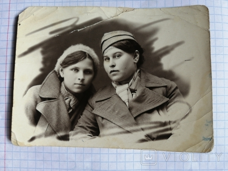 1939г.Девушки.Бирет.Шапка.Вуаль., фото №2