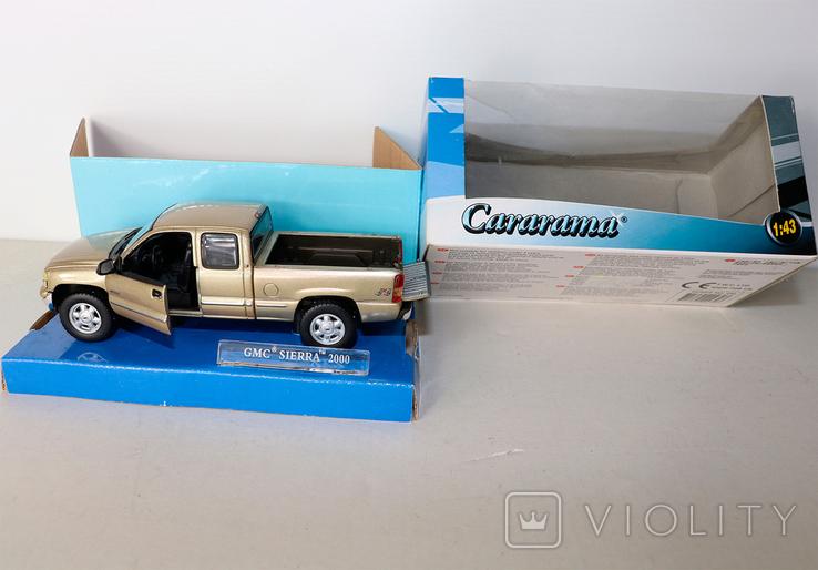 Модель GMC Sierra 2000 Cararama 1:43, раритет, фото №2