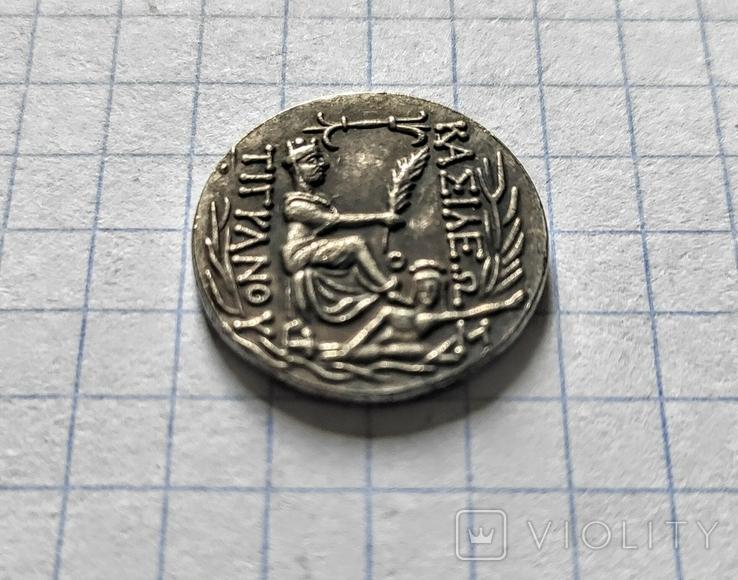 Монета. Древняя Греция.  Реплика, фото №4
