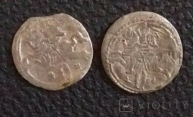Дводенарій 2шт,1621,1620рр,Сигізмунда ІІІ, фото №3