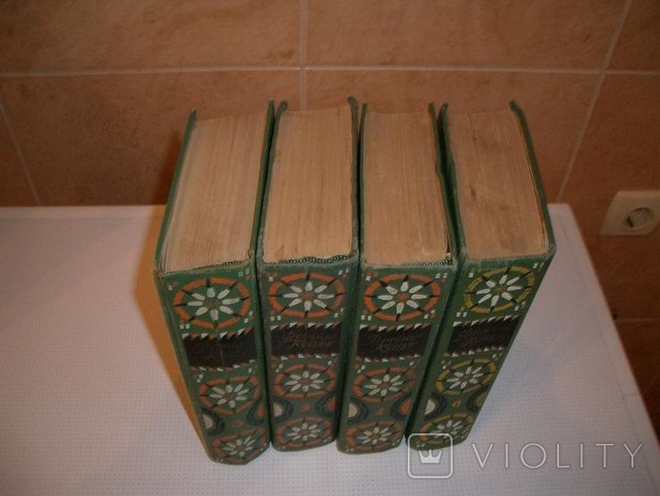 4 тома Фенимор Купер,3,4-й, 5-й и 6-й тома из 6-томника 1963 г., фото №4