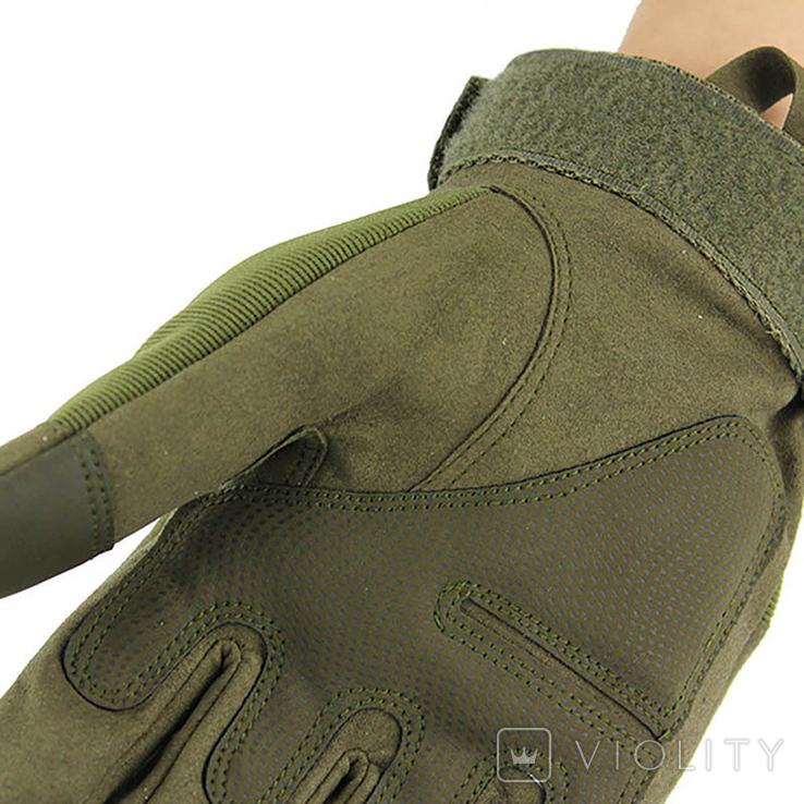 Тактические перчатки. GREEN (ar-42), фото №4