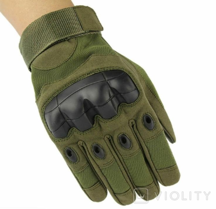Тактические перчатки. GREEN (ar-42), фото №5