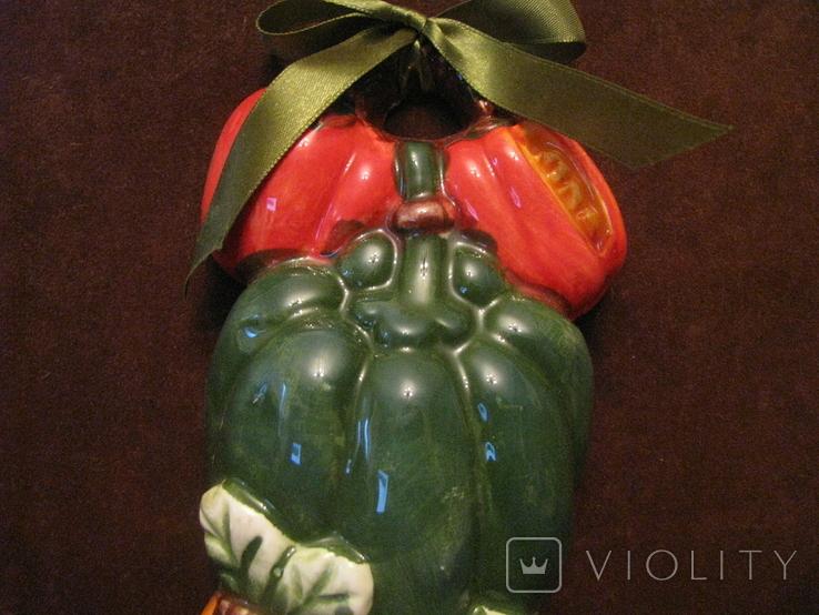 Плакетка - Овощное ассорти  с морковью - малолика., фото №3
