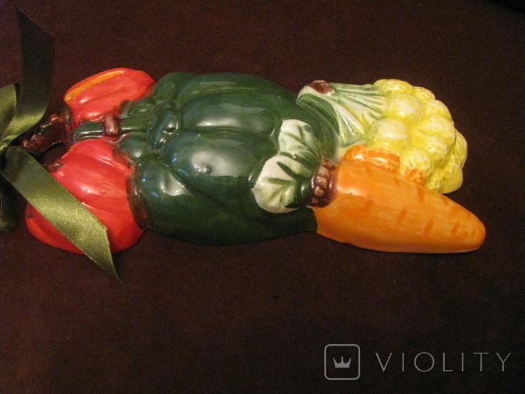 Плакетка - Овощное ассорти  с морковью - малолика., фото №7