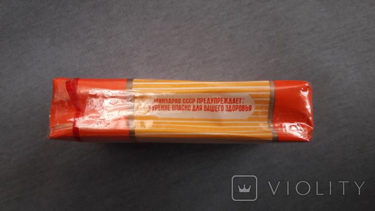 Сигареты запечатанная пачка Салют, фото №4