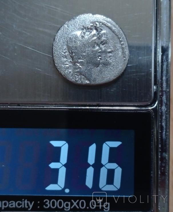 Денарий Римской республики Кордий Руфус 46 г. до н.э., фото №5