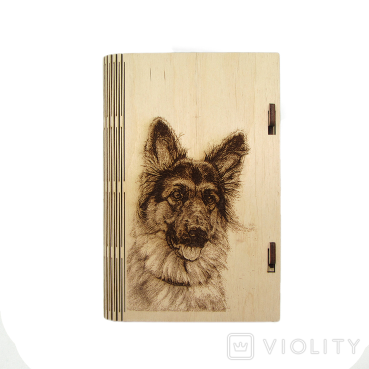 Шкатулка - Собачка (175*115*25мм), фото №2