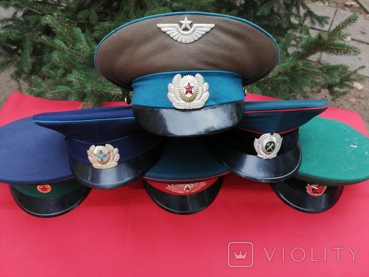 Фуражки СССР 6 штук, фото №2