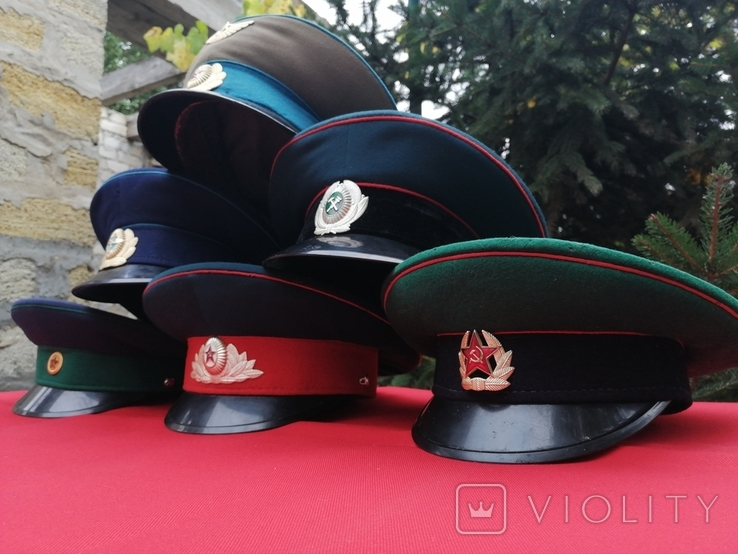 Фуражки СССР 6 штук, фото №4