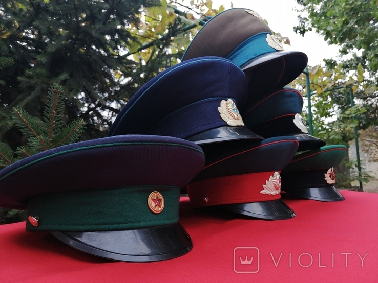 Фуражки СССР 6 штук, фото №5