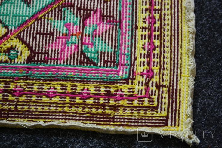 Вышивка для подушки, фото №3