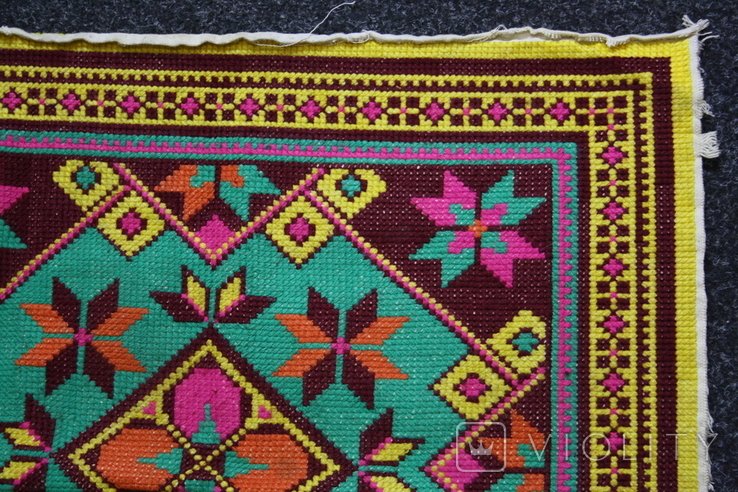 Вышивка для подушки, фото №5