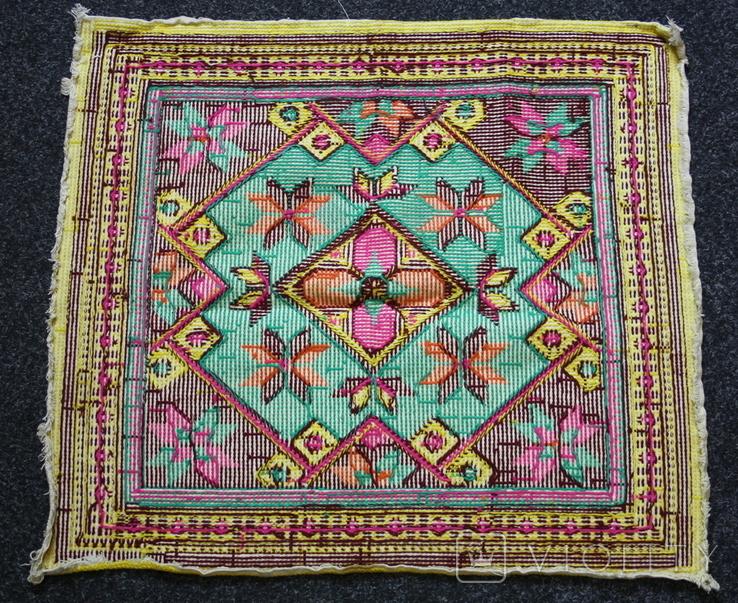 Вышивка для подушки, фото №9