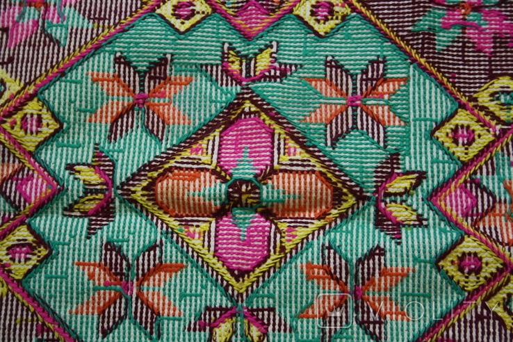 Вышивка для подушки, фото №10