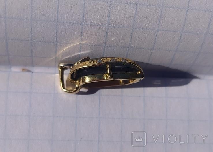 Золотой кулон с опалом и бриллиантами., фото №9