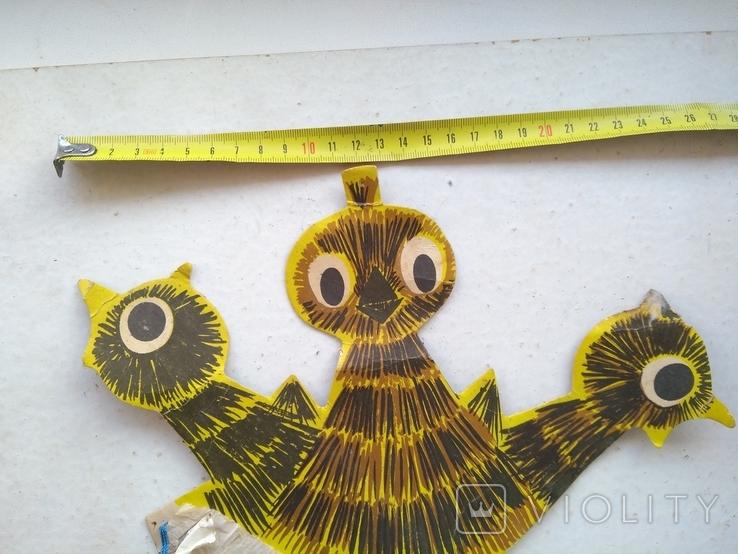 Карнавальное украшение Птенцы, фото №13
