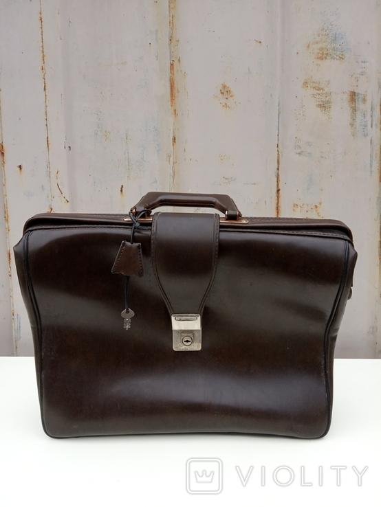 Кожаный портфель, фото №2
