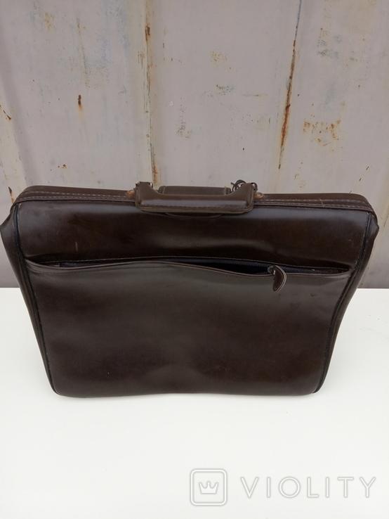 Кожаный портфель, фото №4