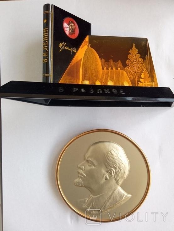 Плакетка.Сувенир В.И.Ленин, фото №2