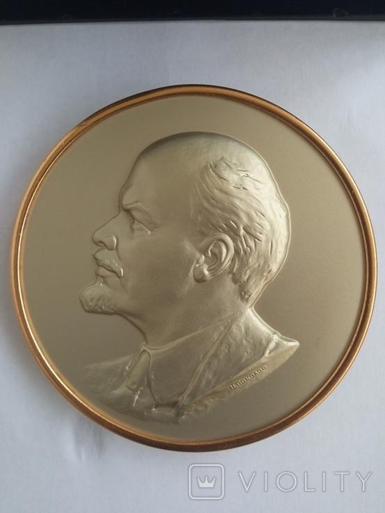 Плакетка.Сувенир В.И.Ленин, фото №3